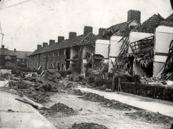 Bomb Damage in Dagenham